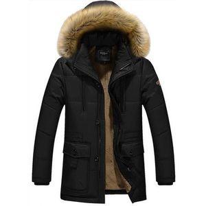 Manteau homme col fourrure achat vente manteau homme - Parka homme avec capuche fourrure ...