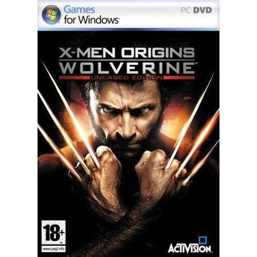JEU PC X MEN ORIGINS WOLVERINE / JEU PC DVD-ROM