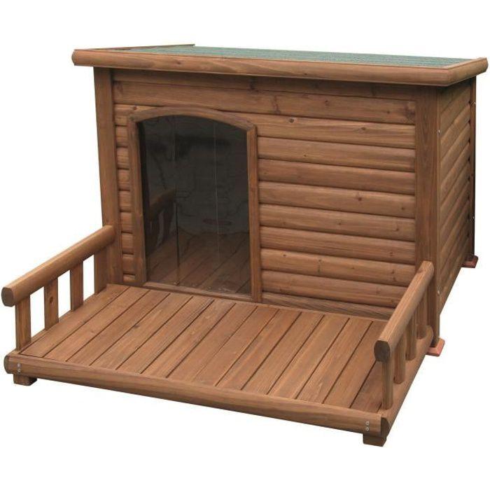 niche grand chien achat vente niche grand chien pas cher cdiscount. Black Bedroom Furniture Sets. Home Design Ideas