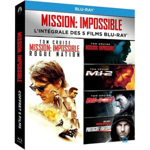 BLU-RAY FILM Blu-ray Pack Mission: Impossible - L'intégrale des