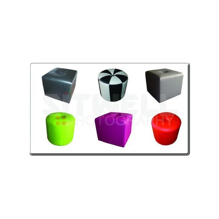 pouf carre noir et blanc achat vente pouf poire cdiscount. Black Bedroom Furniture Sets. Home Design Ideas