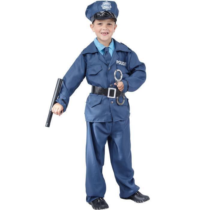 d guisement de policier gar on 10 12 ans l achat vente d guisement panoplie cdiscount. Black Bedroom Furniture Sets. Home Design Ideas