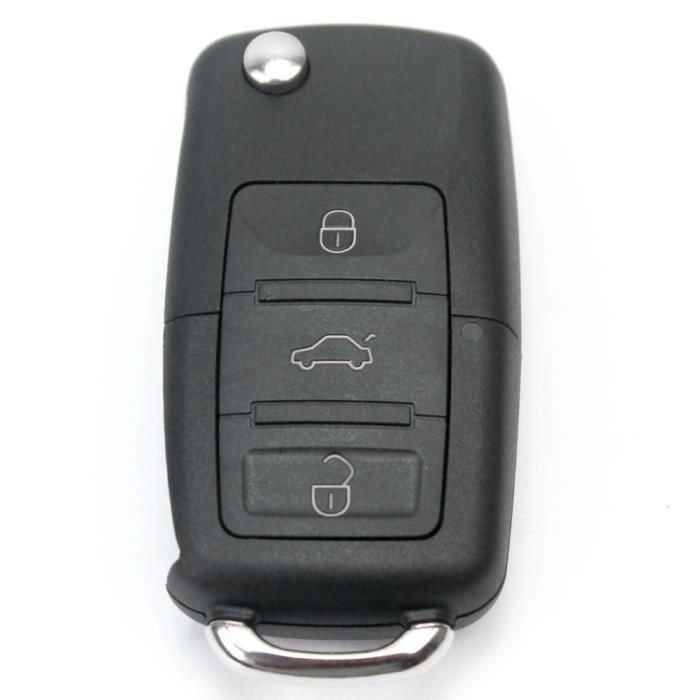 coque de cl t l commande voiture pour volkswagen passat jetta beetle jetta achat vente. Black Bedroom Furniture Sets. Home Design Ideas