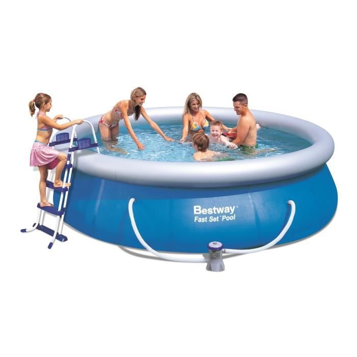 Bestway fast seet pool kit piscine ronde autoportante 3 66 for Bestway piscine