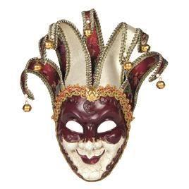 Masque venitien maitre joker achat vente masque - Masque venitien decoration ...