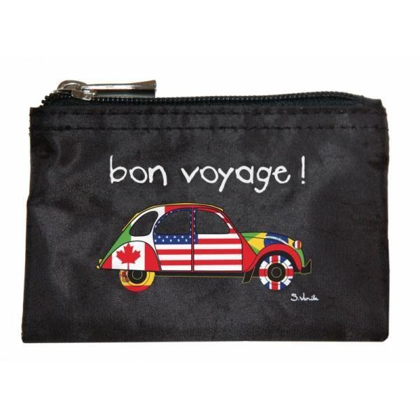 pochette bon voyage noir noir achat vente organiseur de sac 3661443613973 cdiscount. Black Bedroom Furniture Sets. Home Design Ideas