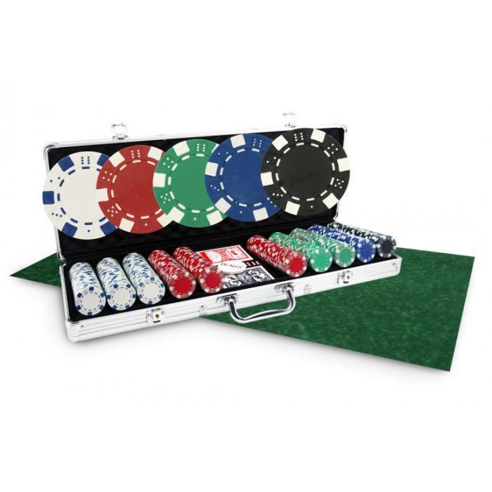 pack noel malette poker dice 500 jetons tapis vert achat vente malette poker cdiscount. Black Bedroom Furniture Sets. Home Design Ideas