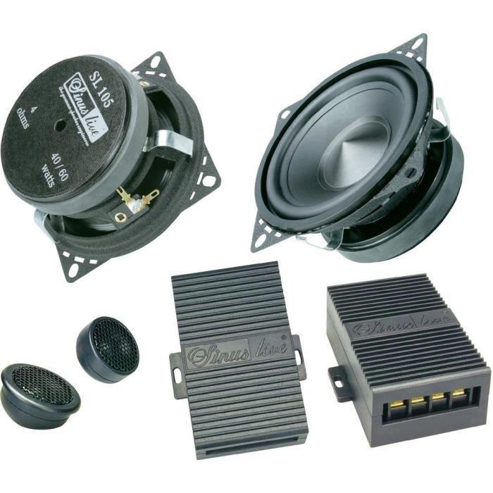 sinus live sl 105 2 voies 10 cm haut parleur voiture avis et prix pas cher cdiscount. Black Bedroom Furniture Sets. Home Design Ideas