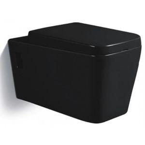 Wc suspendu achat vente wc suspendu pas cher les soldes sur cdiscount - Toilette noir suspendu ...