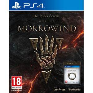 JEU PS4 NOUVEAUTÉ The Elder Scrolls Online: Morrowind Jeu PS4
