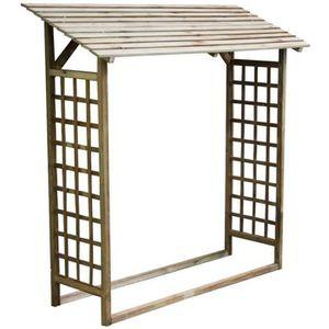 abris pour buche de bois achat vente abris pour buche de bois pas cher cdiscount. Black Bedroom Furniture Sets. Home Design Ideas