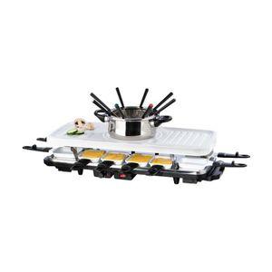 SERVICE À FONDUE Gourmetmaxx 05497 Set à Fondue/Raclette Céramique