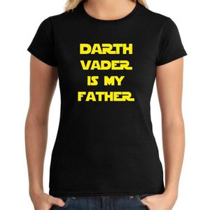 T-SHIRT T-shirt femme DTR0038 Darth Vader Is My Father 25m