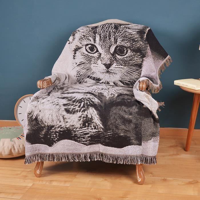 Jet de canap ou fauteuil coton au crochet plaid for Jete de canape coton