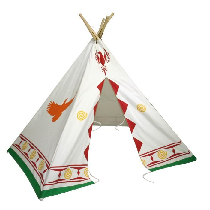 bentley kids tente de jeu style tipi far west enfant achat vente tente tunnel d 39 activit. Black Bedroom Furniture Sets. Home Design Ideas