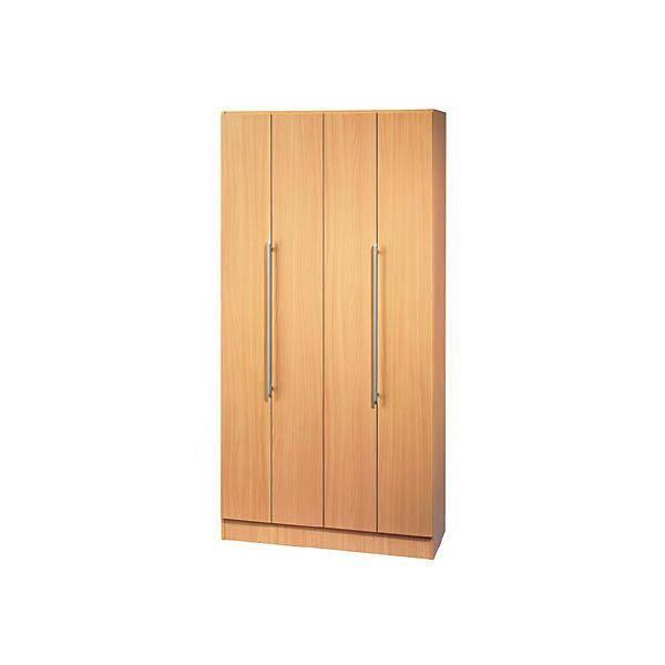Viola armoire portes pliantes angle d 39 ouverture 170 for Armoire 1 porte