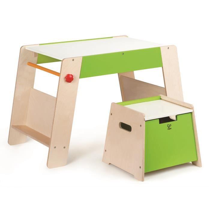 table bois enfant hape achat vente bureau b b. Black Bedroom Furniture Sets. Home Design Ideas