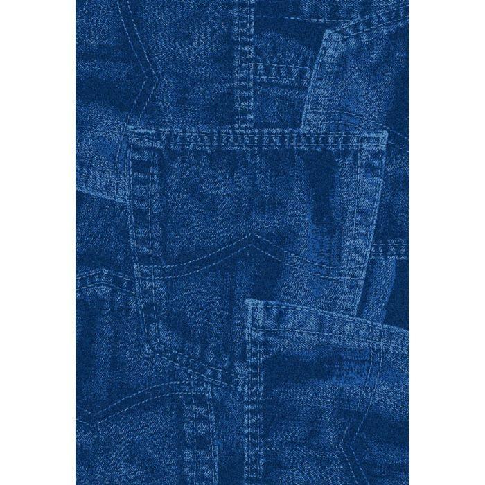 Tapis salon WELLNESS DENIM bleu jeans UNIVERSOL - Achat ...