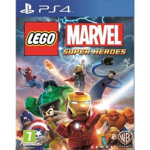 JEU PS4 Lego Marvel Superheroes Jeu PS4
