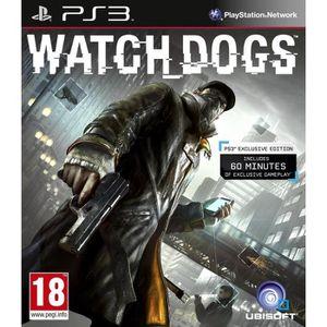 JEU PS3 Watch Dogs Jeu PS3