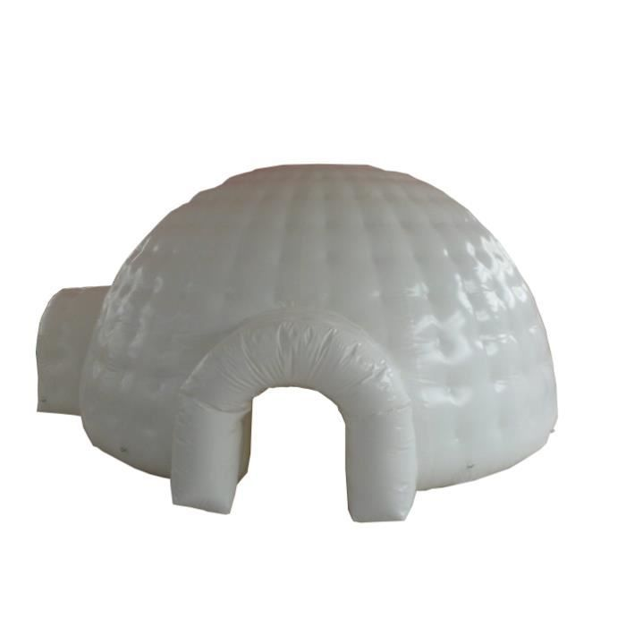 Igloo gonflable blanc 3 5m achat vente aire de jeux for Izigloo avis