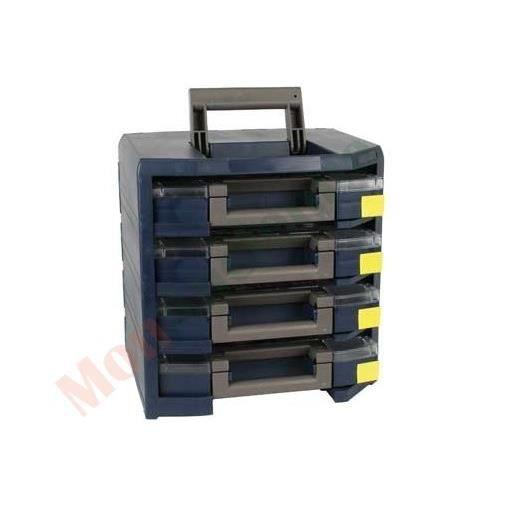 Caisson de rangement portatif 4 mallettes achat vente rangement tag - Caissons de rangement ...
