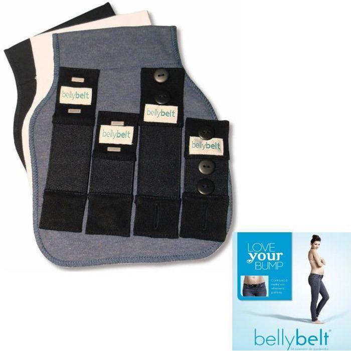 belly belt ceinture de grossesse blanc noir denim noir achat vente ceinture ventre. Black Bedroom Furniture Sets. Home Design Ideas