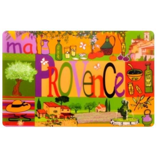 4 sets de table ma provence plastique achat vente for Sets de table plastique