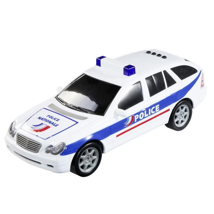 voiture de police 20 cm achat vente voiture camion cdiscount. Black Bedroom Furniture Sets. Home Design Ideas