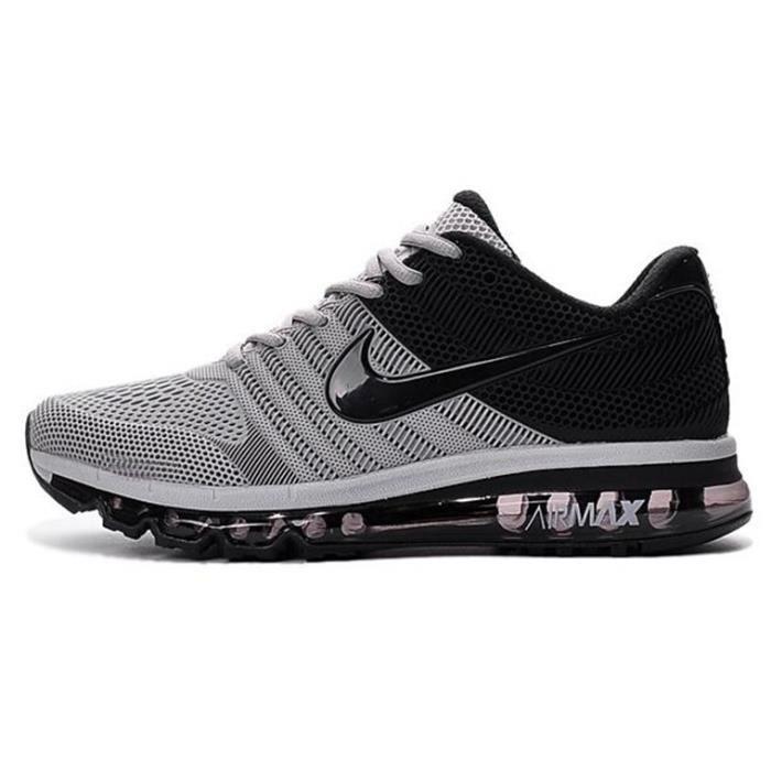 nike air max 2017 baskets chaussures de sport gris gris gris achat vente espadrille soldes. Black Bedroom Furniture Sets. Home Design Ideas