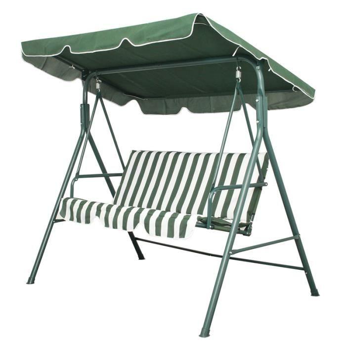 Chaise de balan oire chaise de balan oire en m tal pour for Coussin de balancelle de jardin