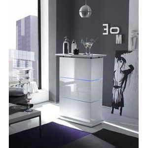bar de salon blanc laqu design olivier avec achat vente meuble bar bar de salon blanc laqu. Black Bedroom Furniture Sets. Home Design Ideas