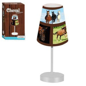 LAMPE A POSER Lampe cheval