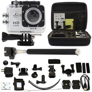 "PACK CAMERA SPORT 2.0"" WIFI Action Go Sport pro Cam Camera Waterproo"
