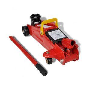 CRIC Superbe Cric hydraulique roulant 2 tonnes Rouge