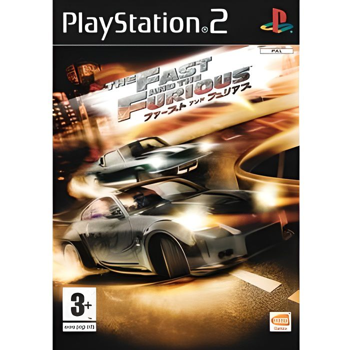 the fast and furious tokyo drift ps2 achat vente jeu ps2 the fast and furious tokyo dri. Black Bedroom Furniture Sets. Home Design Ideas