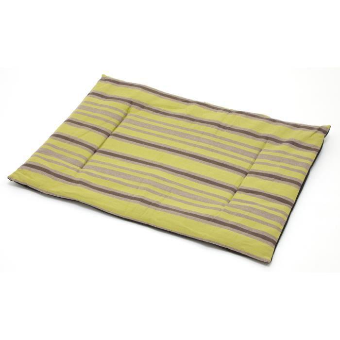 Tapis ouatine pour chien bambou taille 72 cm x achat vente corbeille - Tapis en bambou noir ...