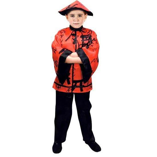 10 12 ans Déguisement chinois garçon taille 145 160 cm. Le costume