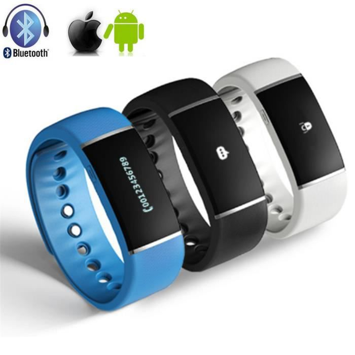 getek bracelet connect bluetooth sport smartband smartphonespaschers. Black Bedroom Furniture Sets. Home Design Ideas