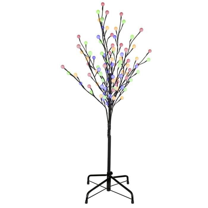 lampe ext rieure led arbre lumineux d coration clairage del multicolores jardin terrasse. Black Bedroom Furniture Sets. Home Design Ideas
