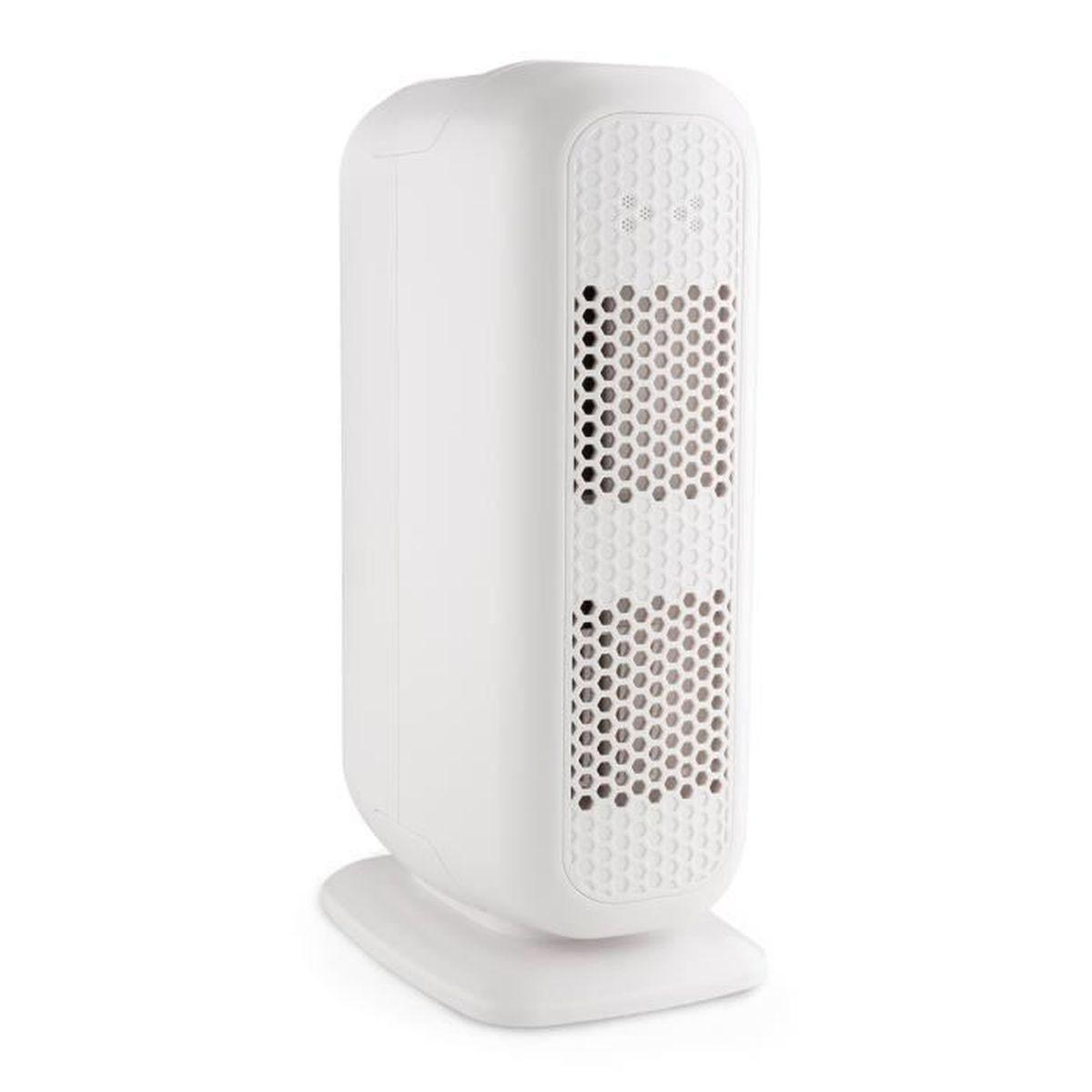 Klarstein davos purificateur d 39 air 5 en 1 ioniseur 101 m h contre la fum e les acariens et la - Purificateur d air poussiere ...