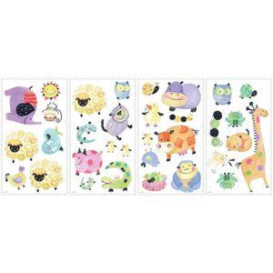 Stickers animaux de la ferme achat vente stickers - Stickers muraux repositionnables ...