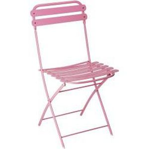 Chaises Bistrot rose (x2)