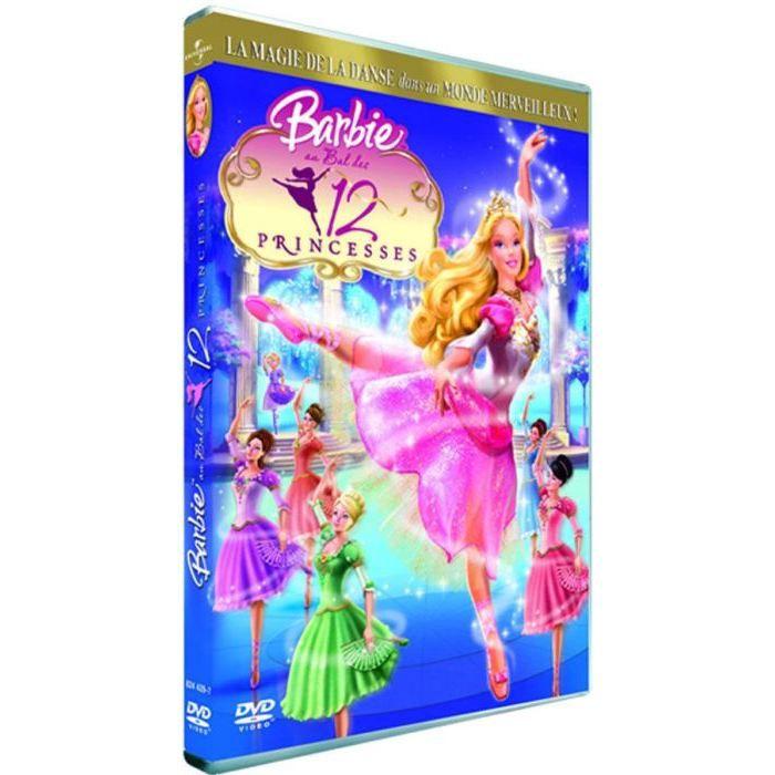 Dvd barbie au bal des 12 princesses achat vente dvd dessin anim barbie au bal des 12 prince - Dessin anime de barbie princesse ...