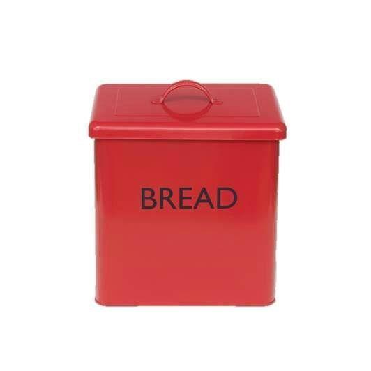 Huche pain rouge achat vente boites de - Huche a pain rouge ...