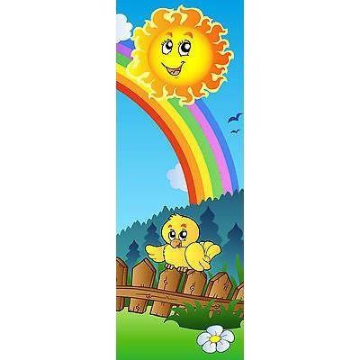 Sticker enfant soleil porte plane ou mural r f achat for Decoration porte plane