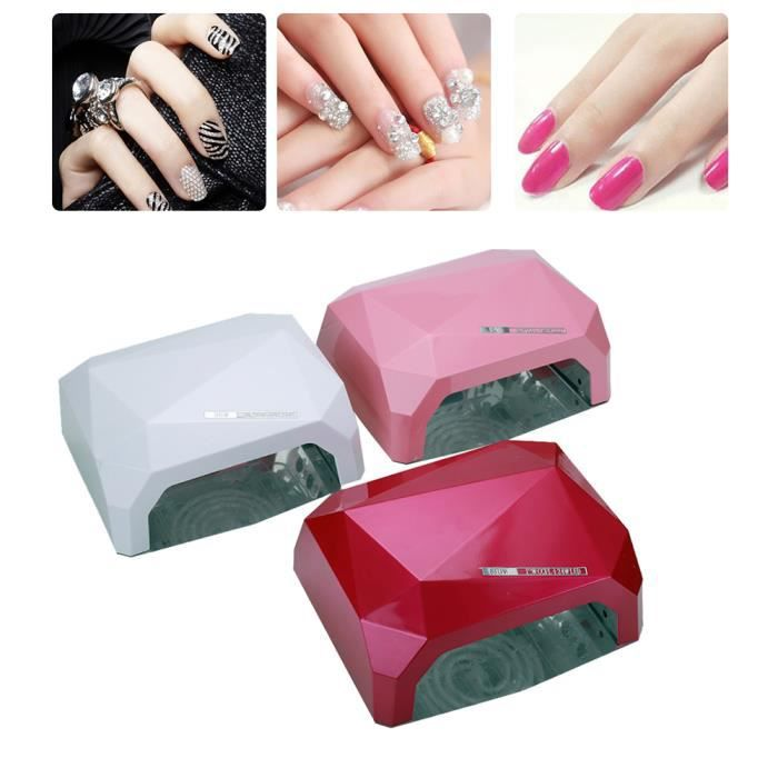 onglerie led lampe de manucure uv a vernis nail dryer s che ongles nail machine 36w blanc. Black Bedroom Furniture Sets. Home Design Ideas