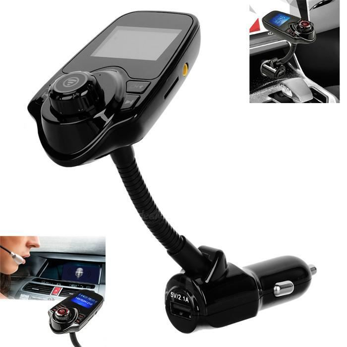 kit voiture bluetooth lecteur mp3 transmetteur fm in car pour iphone 6s plus ipad pro. Black Bedroom Furniture Sets. Home Design Ideas