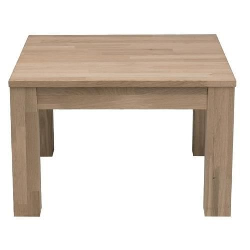 Table basse ch ne massif achat vente table basse table for Table d appoint ordinateur