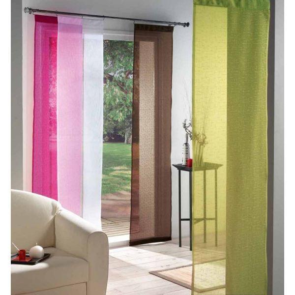 cloison japonaise 50x240 luminea carmin achat vente rideau voilage cdiscount. Black Bedroom Furniture Sets. Home Design Ideas